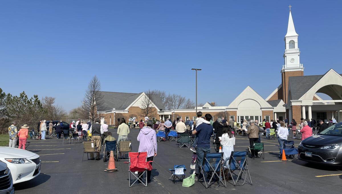 9:00 a.m. Outdoor Worship