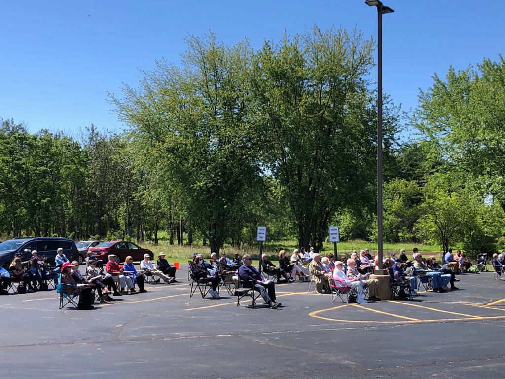 10:00 a.m. Worship in the Parking Lot